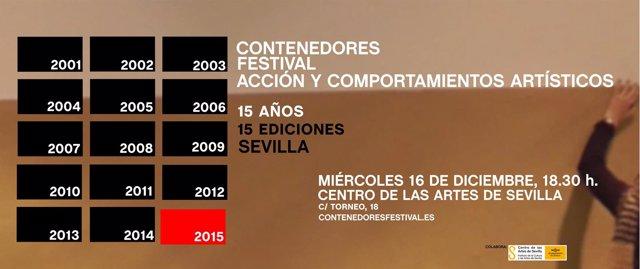 Contenedores celebra su 15 edición