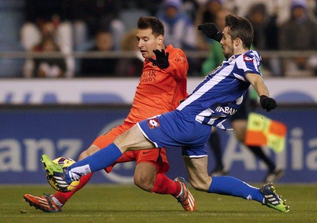 Deportivo Luisinho Barcelona Leo Messi