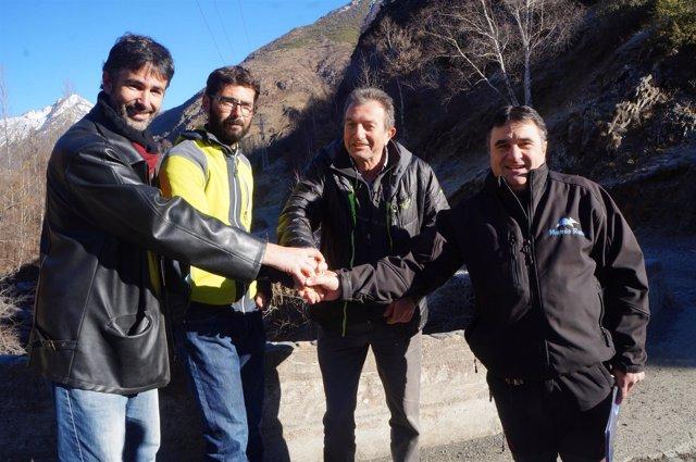 Acuerdo para elaborar un plan de desarrollo de la Vall de Cardós