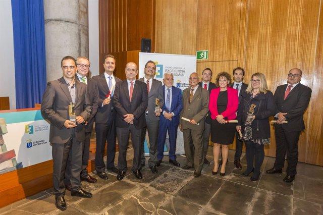La Consejería de Economía premia la innovación y la excelencia empresarial