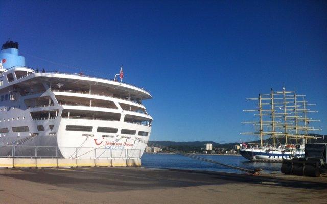 Cruceros en el Puerto de Palamós