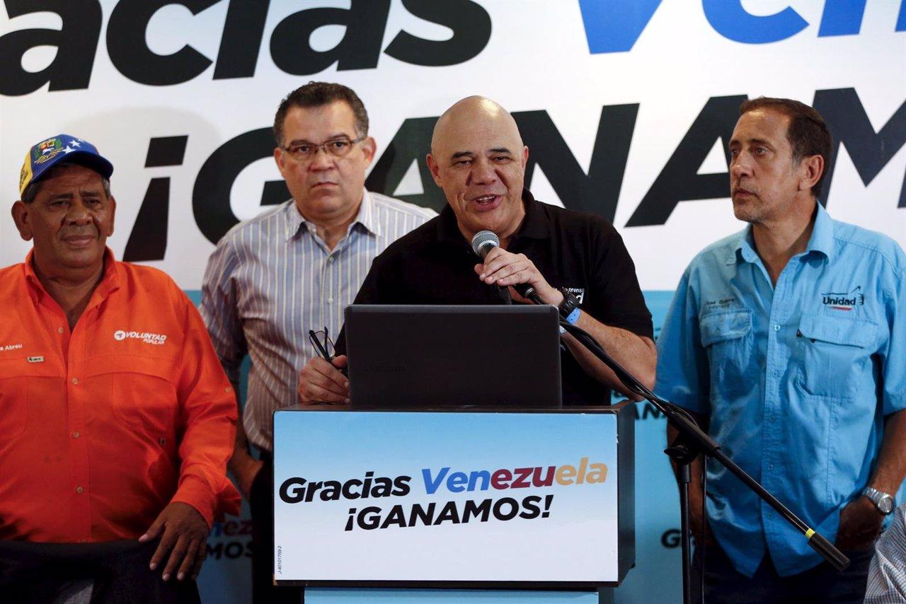 Chuo Torrealba, secretario general de la MUD