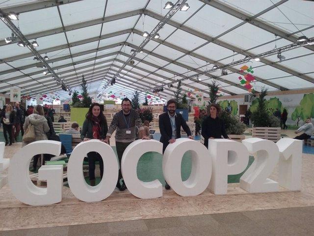 Delegación balear en la cumbre por el clima de París