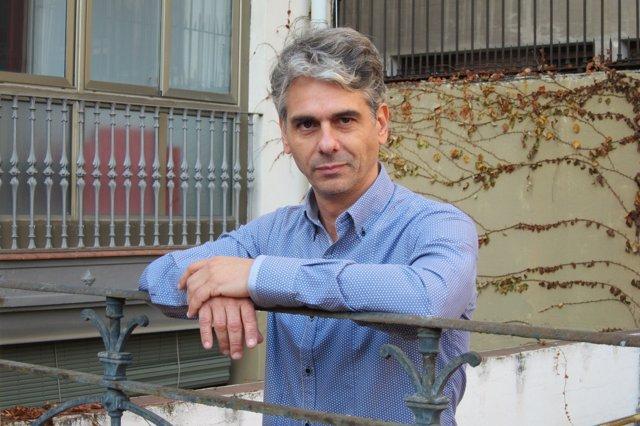 El escritor Pep Puig