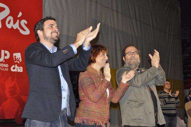 Alberto Garzón, Magallón y Yuste
