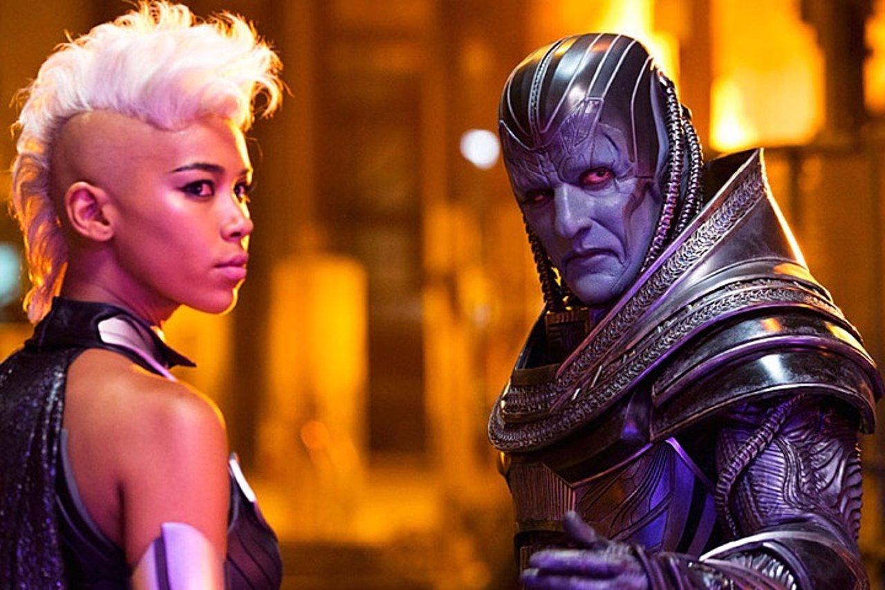 Tormenta y Apocalipsis en X-Men: Apocalypse