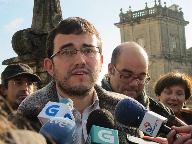 El cabeza de lista de NÓS por A Coruña al Congreso, Carlos Callón