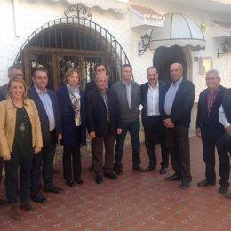 La consejera de Agricultura, Carmen Ortiz, en Cuevas del Almanzora