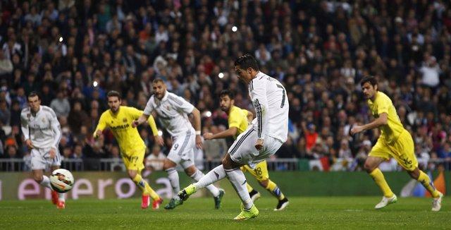 Real Madrid Cristiano Ronaldo Villarreal