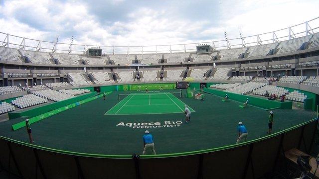 Centro olímpico de tenis para Río 2016