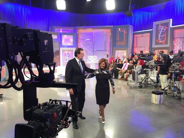 Rajoy en el programa de Maria Teresa Campos