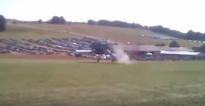 Dos integrantes de un equipo de la cadena MTV mueren al estrellarse su helicóptero cerca de Mendoza