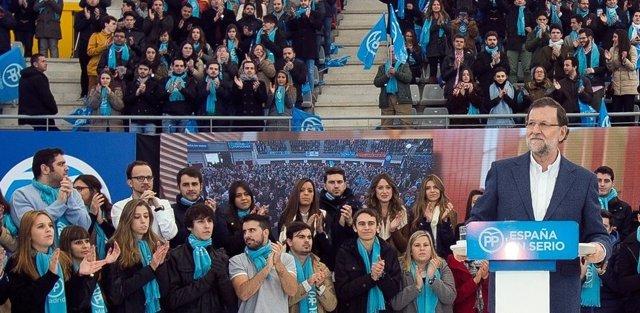 Mitin de Rajoy en Madrid