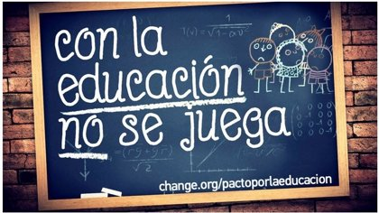 Más de 200.000 personas piden un pacto por la Educación al próximo Gobierno