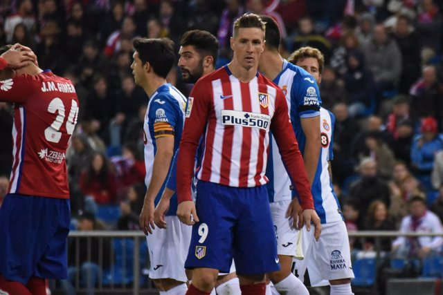 Atlético Madrid contra RCD Espanyol - Fernando Torres