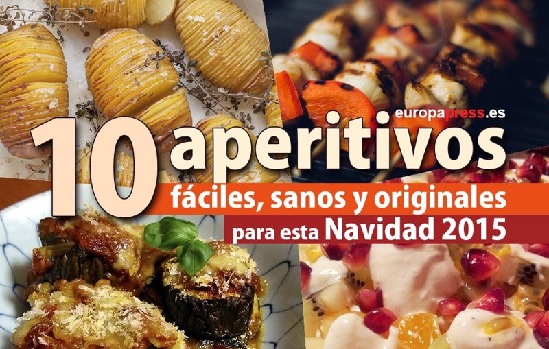 Receta 10 aperitivos y canap s f ciles y originales para - Platos originales y sencillos ...