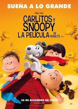 Cartel oficial Carlitos y Snoopy