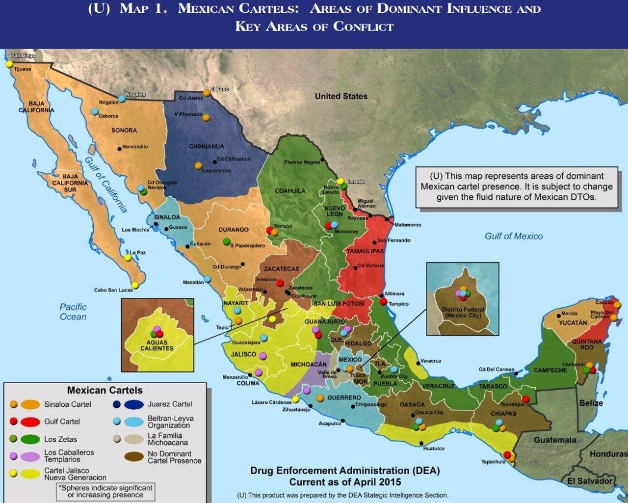 Carteles mexicanos