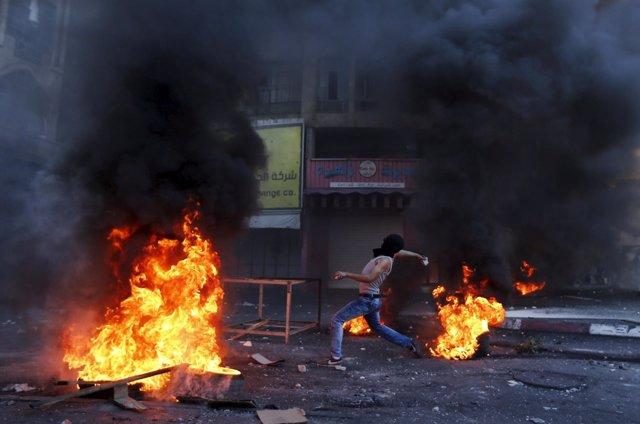 Enfrentamientos en Hebrón (Cisjordania)