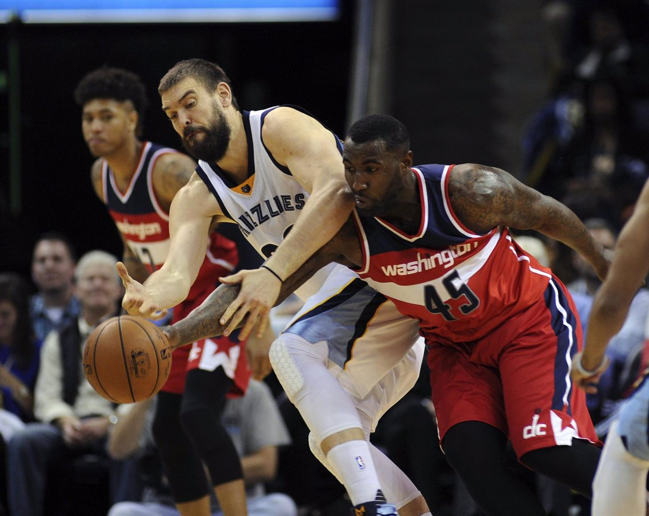 Marc Gasol en el Washington Wizards - Memphis Grizzlies