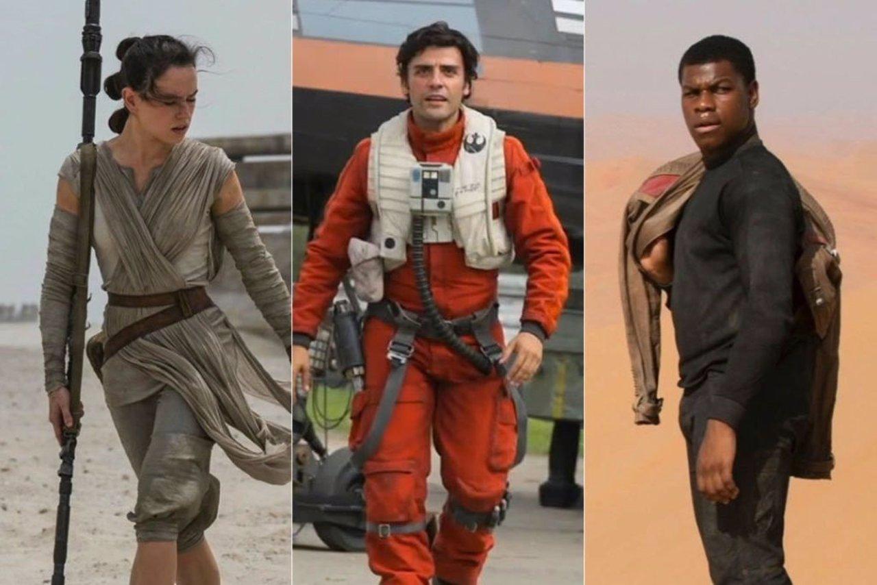 Nuevos personajes de Star Wars: El despertar de la Fuerza