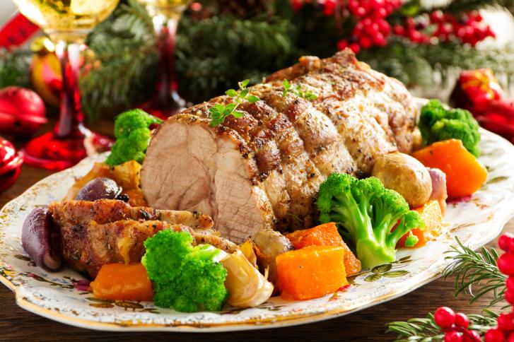 Asado de Navidad saludable