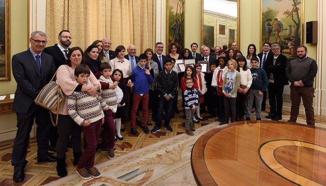 Educación entrega las placas de la Orden Civil de Alfonso X El Sabio