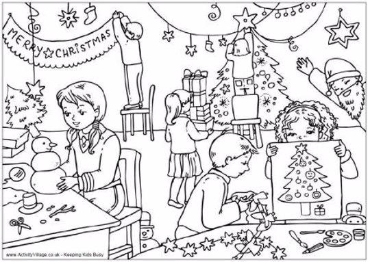 Dibujos De Navidad Listos Para Imprimir Y Colorear En Estas Fiestas