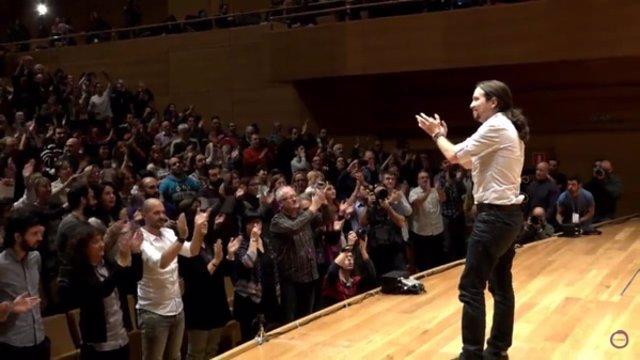 Pablo Iglesias en Valladolid