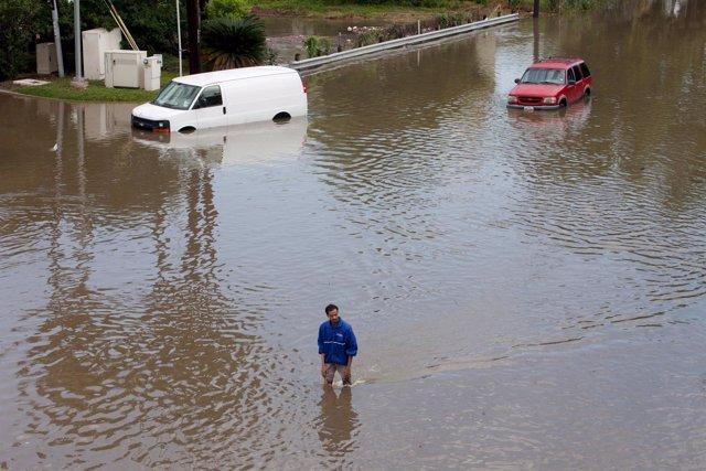 Inundaciones en Houston, Texas.