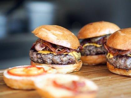 Crean hamburguesas saludables