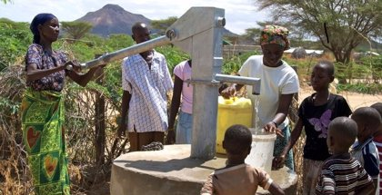 Laboratorios Uriage colabora en la construcción de recursos acuíferos en Kenia