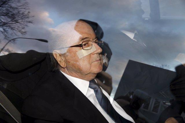 Joseph Blatter llega a declarar