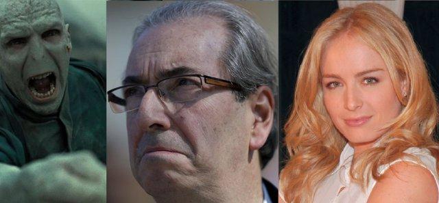 Eduardo Cunha, de Lord Voldemort a Angélica