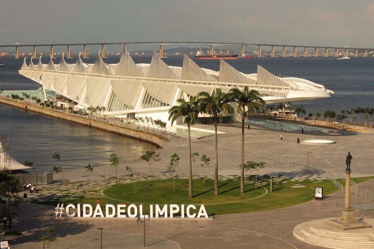 El Museo del Mañana del arquitecto Santiago Calatrava, en Brasil