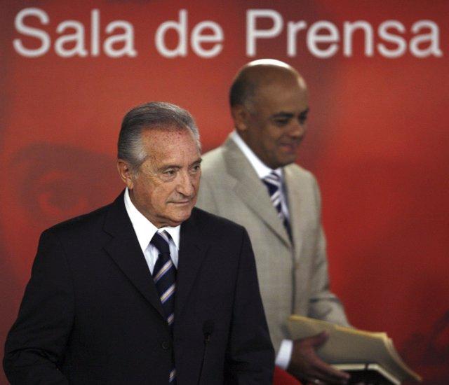 El vicepresidente de la FIFA Eugenio Figueredo