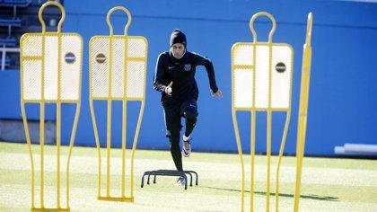 Messi no se entrena y Neymar sigue con su recuperación