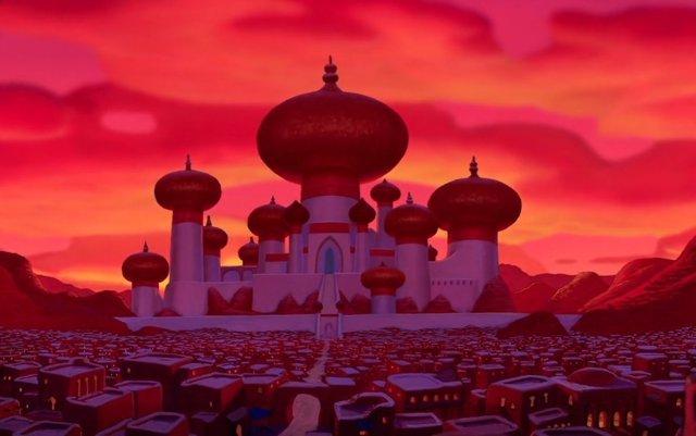 Agrabah, la ciudad de Aladdín