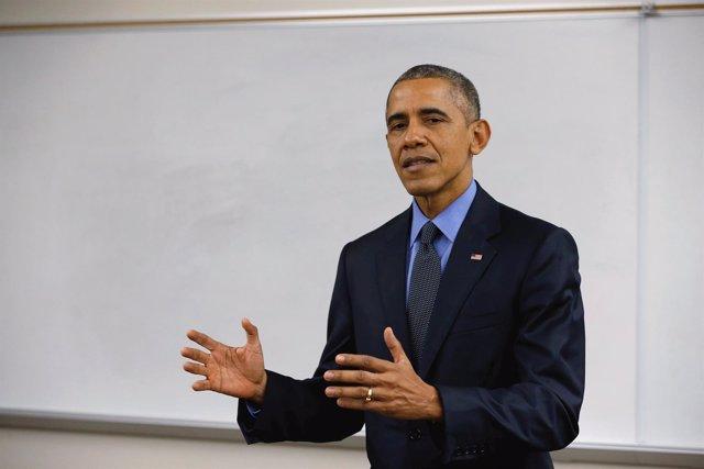 Obama habla tras reunirse con familias de las víctimas de San Bernardino
