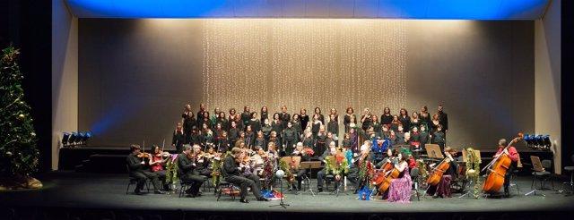 El Maestranza acoge su tradiconal concierto de Navidad