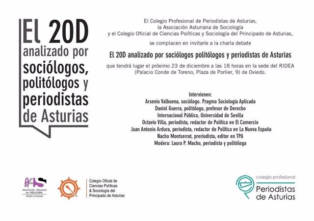 El 20D analizado por sociólogos, politólogos y periodistas de Asturias