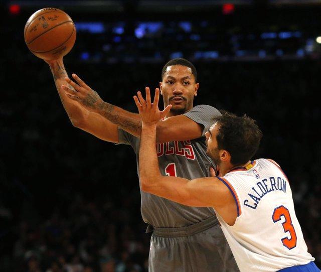 José Manuel Calderón NBA Chicago Bulls New York Knicks
