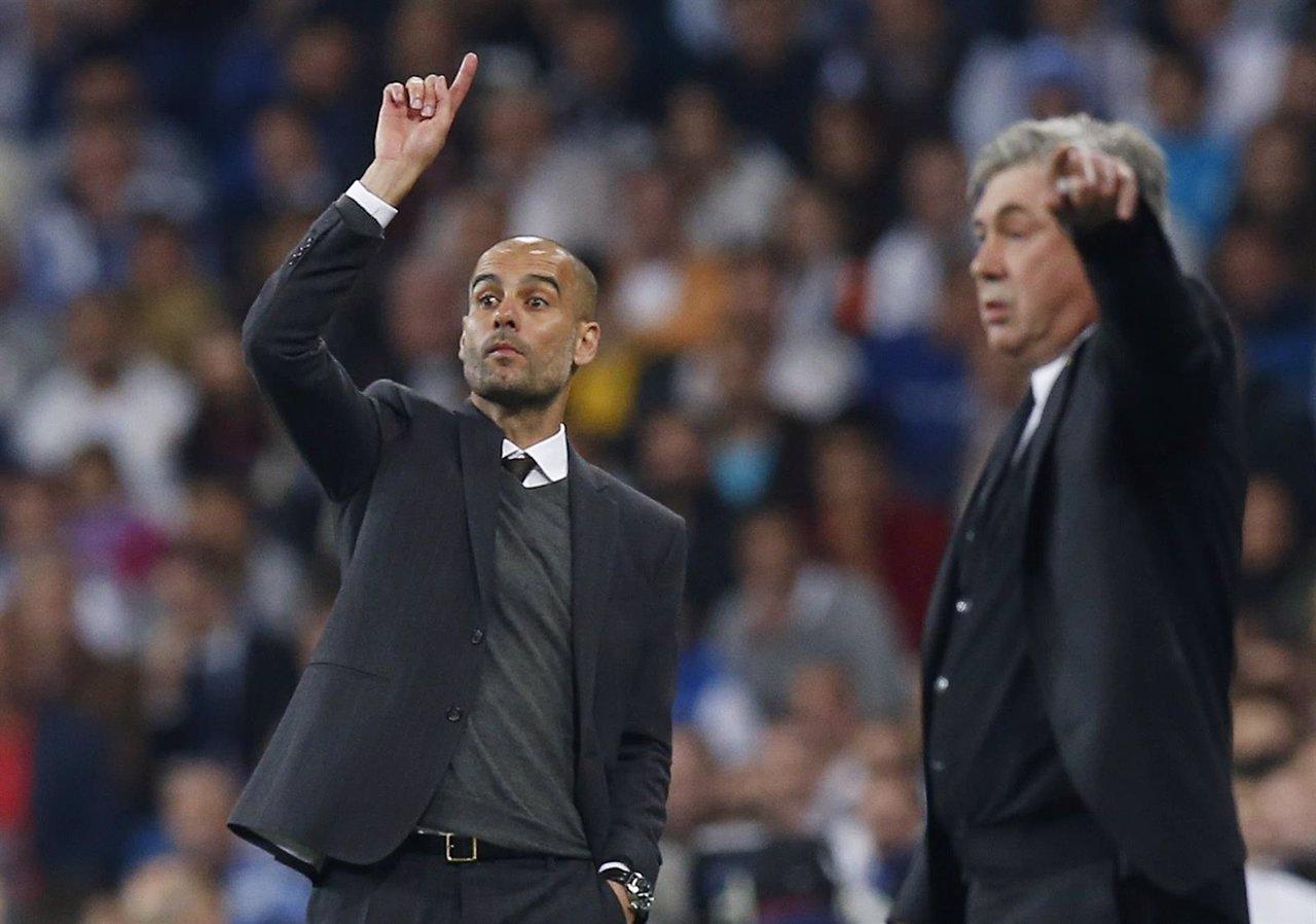 Bayern Munich Pep Guardiola Carlo Ancelotti