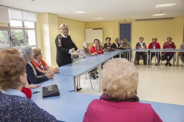 Ckausura de talleres de gerontopsicomotricidad en Camargo