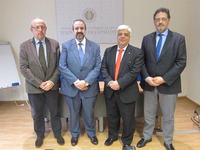 Oriol Rusca, Abel Pié, Jordi Albareda, Antoni Molas