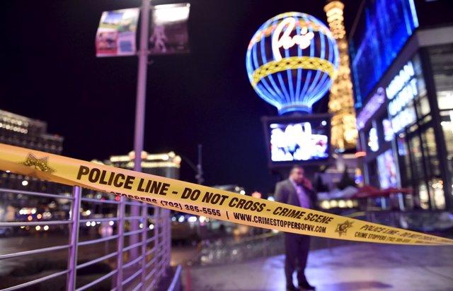 Accidente en Las Vegas