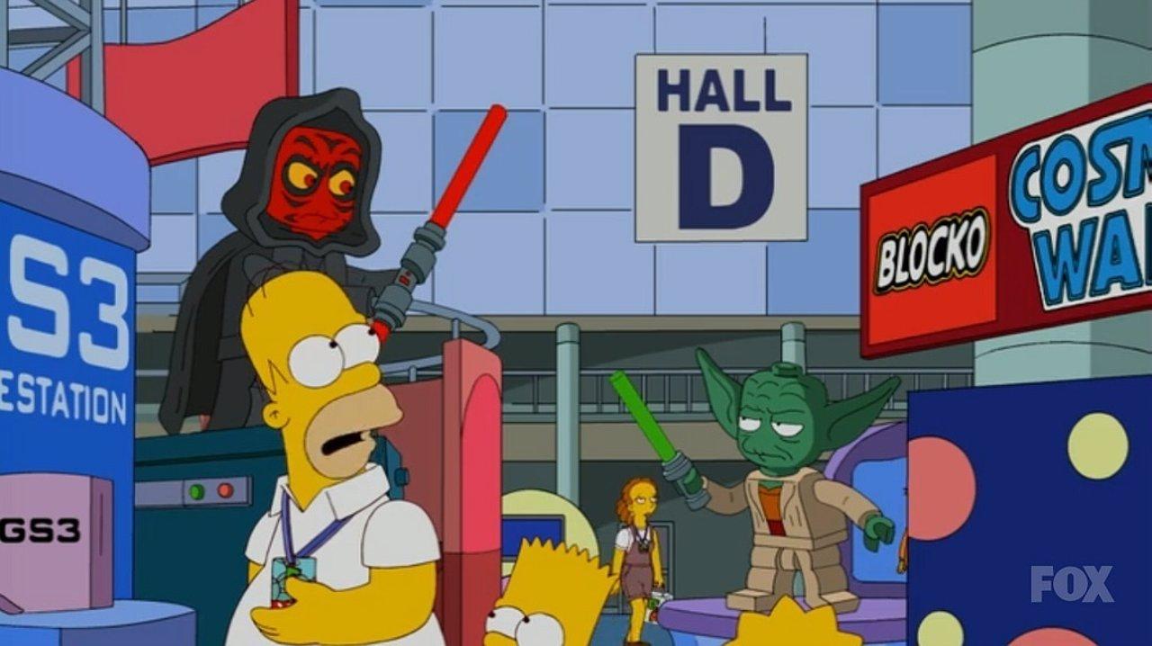 Star Wars en Los Simpson