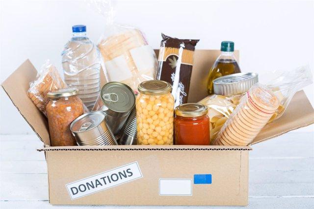 Banco Alimentos, Donación