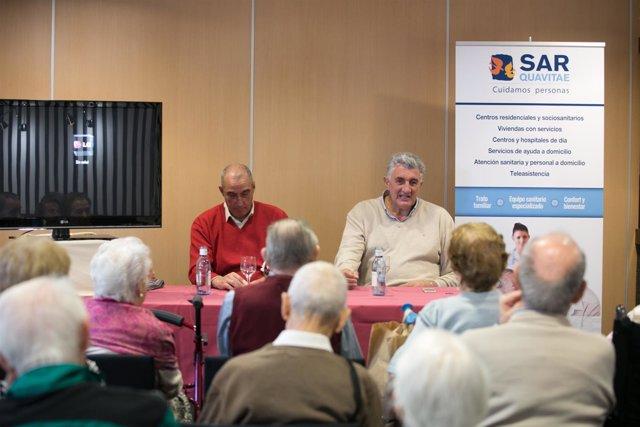 Ndp I Romay Y Rullán Participan En Una Acto Para Promover El Envejecimiento Acti