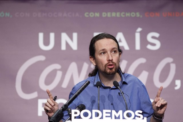 Pablo Iglesias tras las elecciones